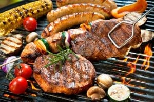 Different Types Of Meat On Grill