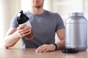 Protein Shake Preparation