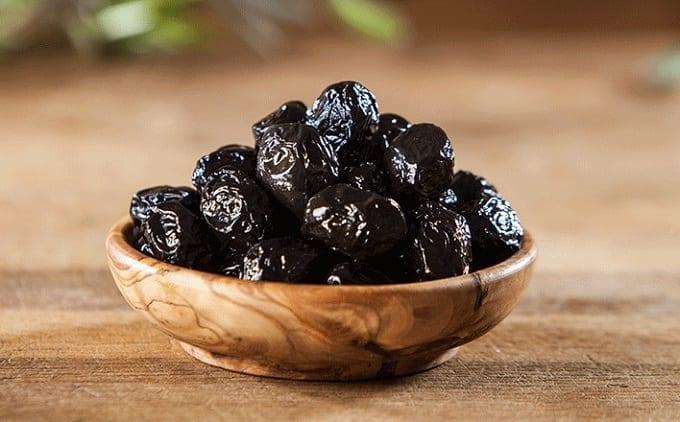 Sodium content of Black Olives