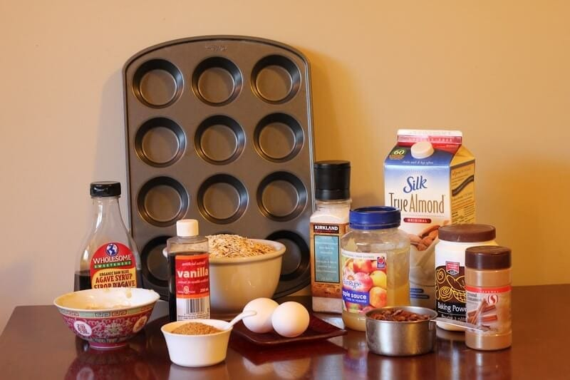 Sugar Free Breakfast Muffins Ingredients