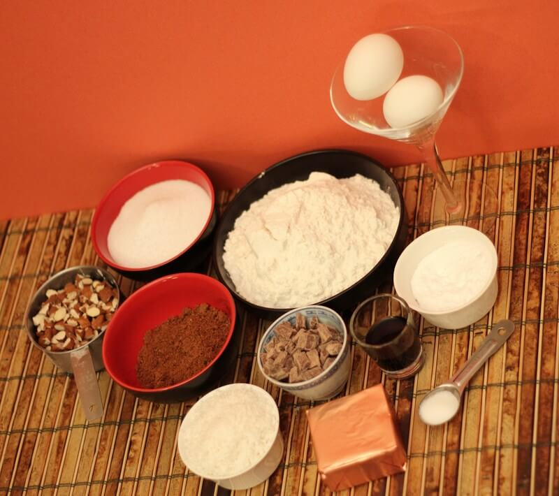 Ingredients For Almond Joy Cookies