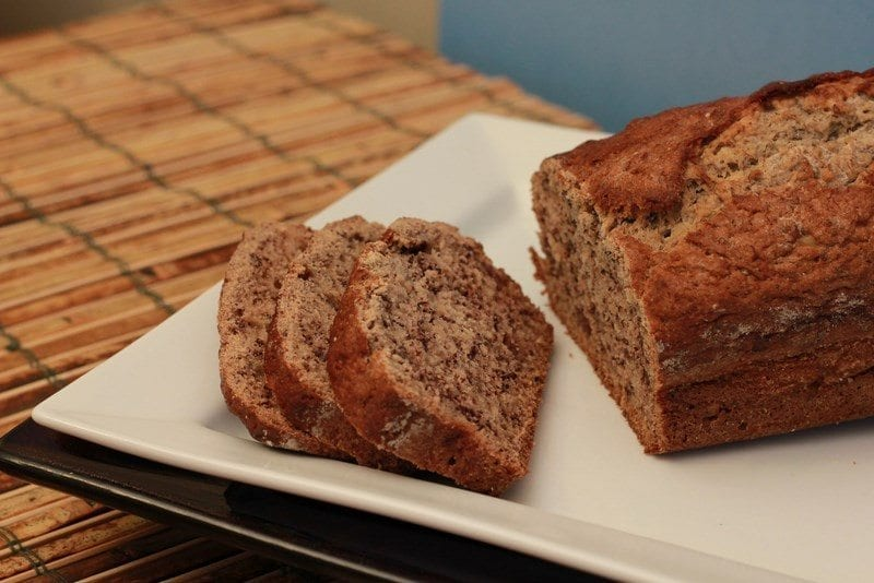 delicious sugar free banana bread