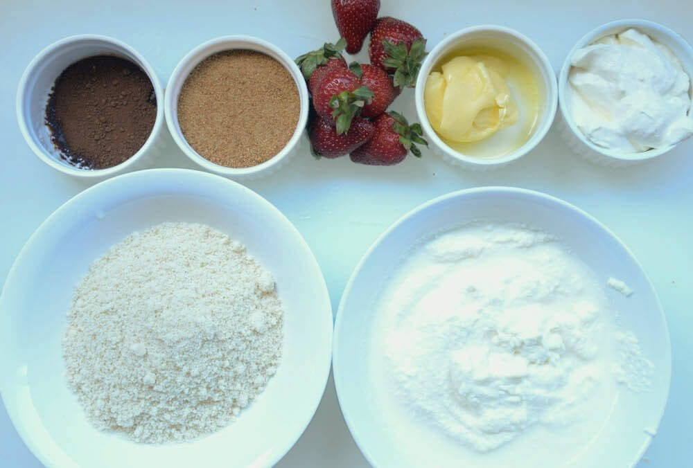 Ingredients For Strawberry Cheesecake