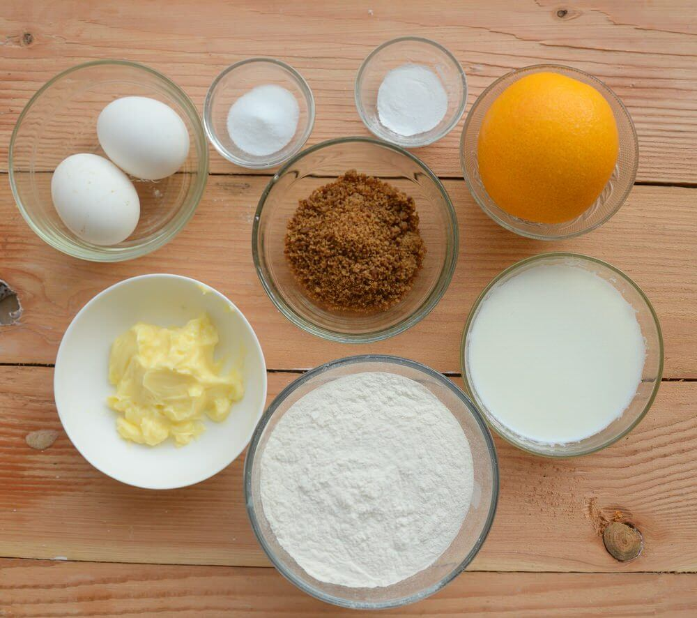 Sugar free orange cake ingredients