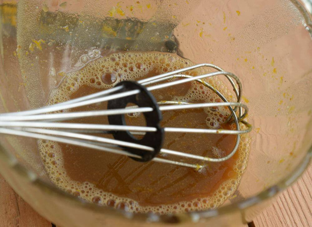 mix it with the whisk