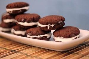 Heavenly Homemade Sugar Free Oreo Cookies