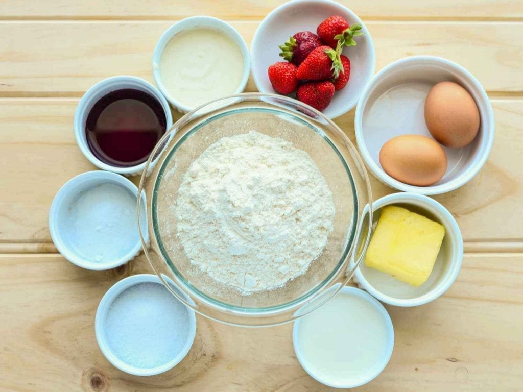 Sugar Free Red Velvet Cake Ingredients