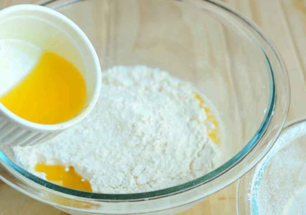 Adding Butter Or Oil Into The Mixture