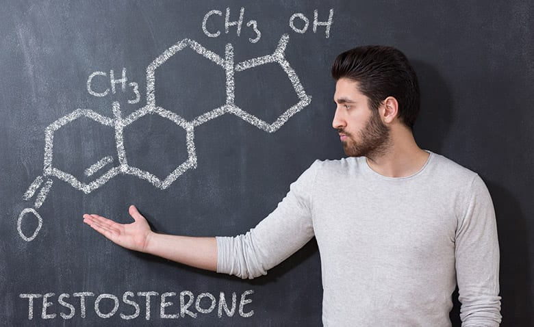 testosterone produciton not inhibited
