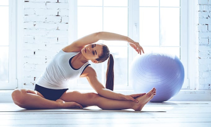 Young Flexible Woman