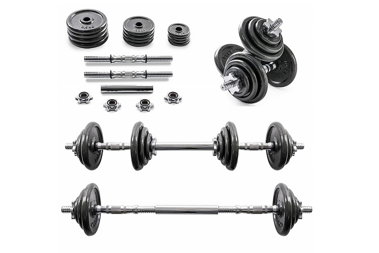 Home Treats 20KG Adjustable Cast Iron Dumbell/Barbell Set Review