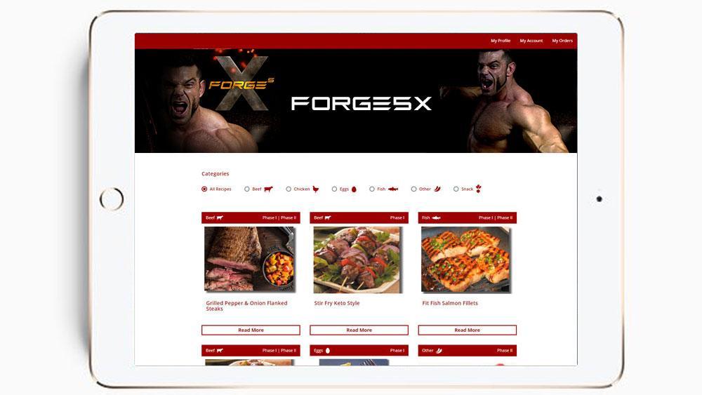 Body Spartan - Forge5x Program