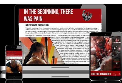 Body Spartan - Big Arm Bible