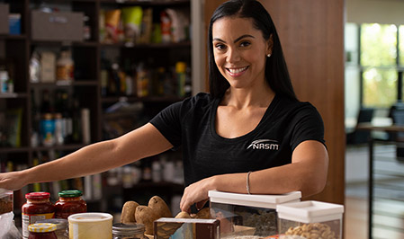 Become an NASM Certified Nutrition Coach