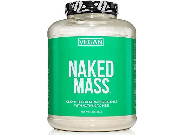 Naked Vegan Mass – Natural Vegan Weight Gainer Protein Powder