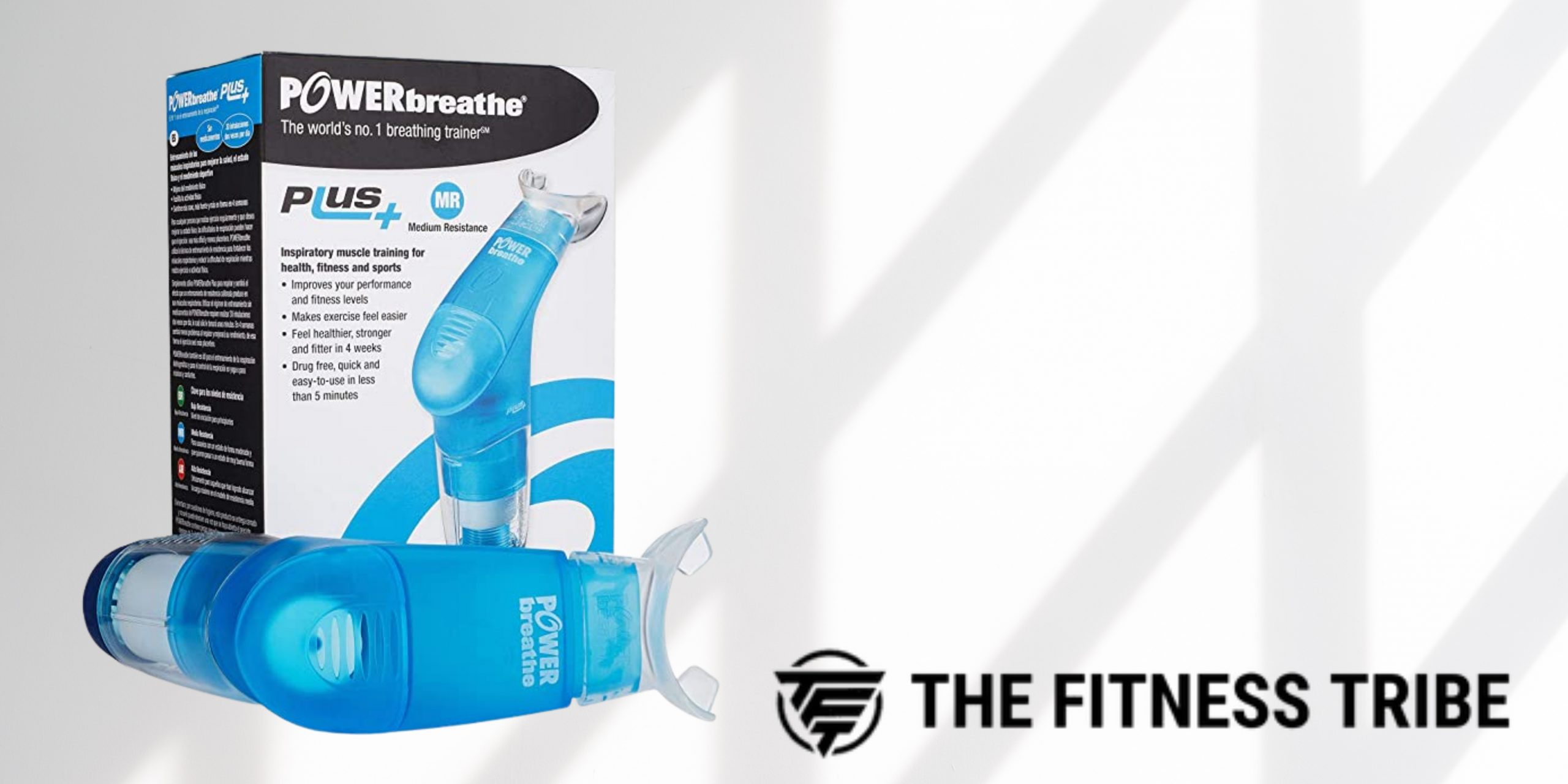 POWERbreathe | Plus 2 Fitness Breathing Muscle Trainer