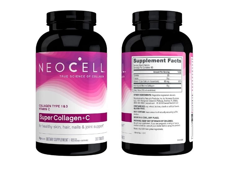 NeoCell Super Collagen with Vitamin C