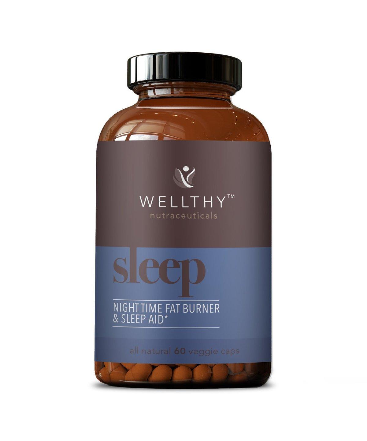 Wellthy | SLEEP: Nighttime Fat Burner & Natural Sleep Aid